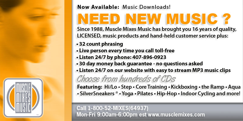 Muscle Mixes Music: wwww.musclemixes.com